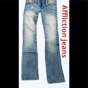 Women's Affliction jeans